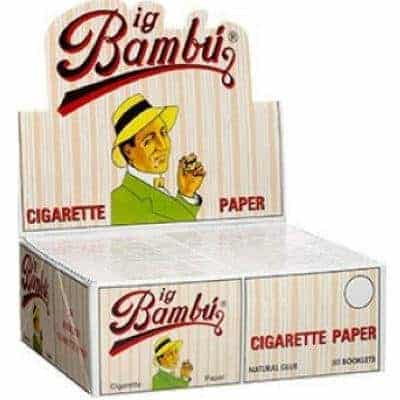 Big Bambu Rolling Papers Review Classic Cult Favorite