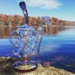 Medusa Bong Review – Recycler with Propeller Perc