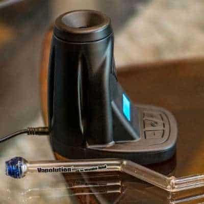 Vapolution 3 Vaporizer Review – Glass Desktop
