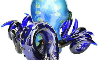 Blue Glass Octopus Hand Pipe Review