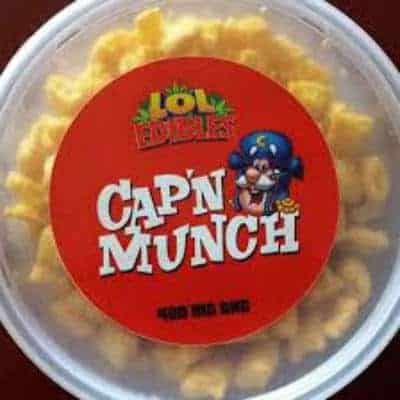 Cap'n Munch Cereal Marijuana Edibles Review